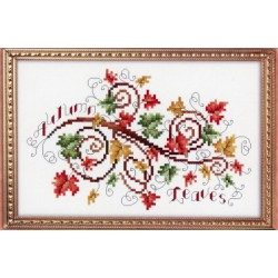AUTUMN LEAVES Kitty and Me Designs