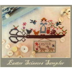 EASTER SCISSORS SAMPLER Nikyscreations Primitives