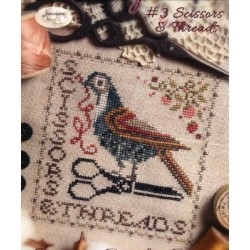 SEW TOGETHER 3 SCISSORS AND THREAD Jeannette Douglas