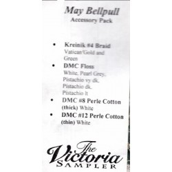 May Bellpull Accessory Pack 04305P The Victoria Sampler