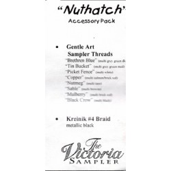 Nuthatch Accessory Pack CJVS03P The Victoria Sampler