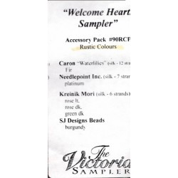 Welcome Hearts Sampler Accessory Pack 90RCP The Victoria Sampler