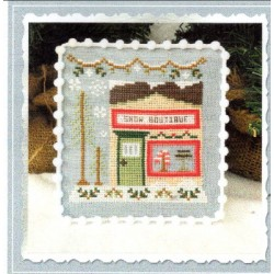 SNOW VILLAGE SNOW BOUTIQUE Country Cottage Needleworks