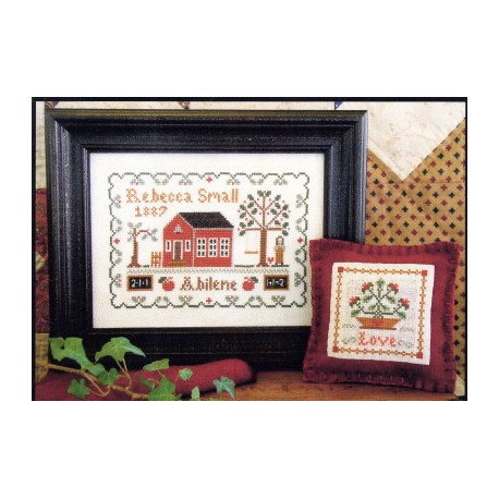 DEAR DIARY REBECCA SMALL 1887 Little House Needleworks
