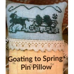 GOATING TO SPRING PIN PILLOW Dames of the Needle