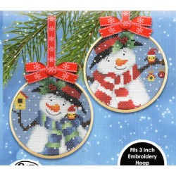 SNOWMAN AND FRIENDS 1 AND 2 Cat and Mouse Designs