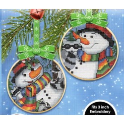 SNOWMAN AND FRIENDS 3 AND 4 Cat and Mouse Designs