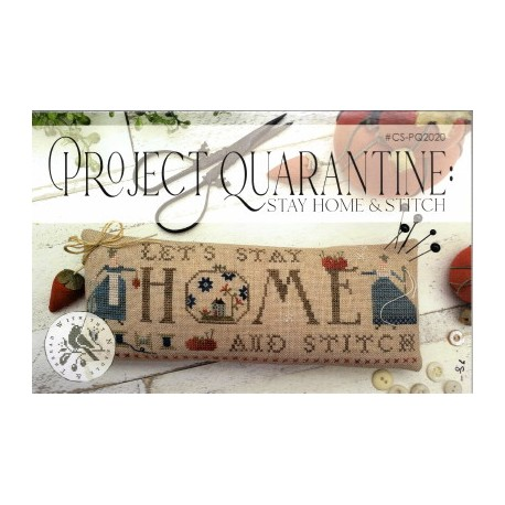 PROJECT QUARANTINE STAY HOME AND STITCH With Thy Needle and Thread