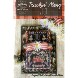 TRUCKIN ALONG JULY Stitching with the Housewives