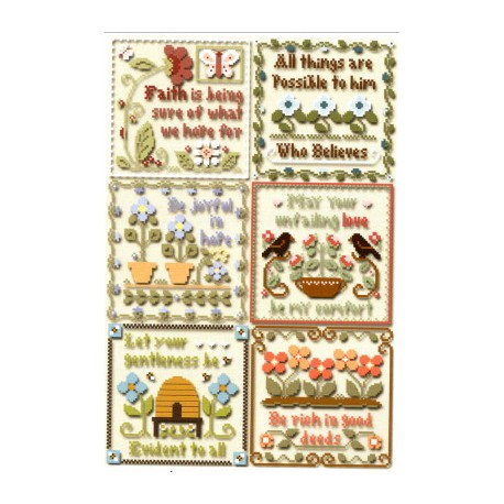 INSPIRATIONAL SCRIPTURES Little House Needleworks
