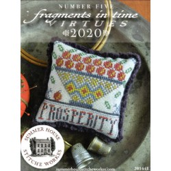 FRAGMENTS IN TIME 2020 NO. 5 PROSPERITY Summer House Stitche Workes