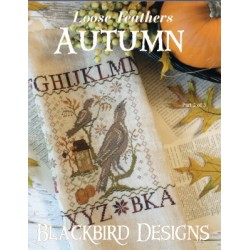 LOOSE FEATHERS AUTUMN Blackbird Designs