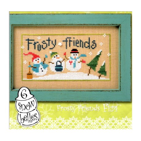 6 SNOW BELLES FROSTY FRIENDS F 124 Lizzie kate