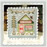 ICE CREAMERY SNOW VILLAGE Country Cottage Needleworks