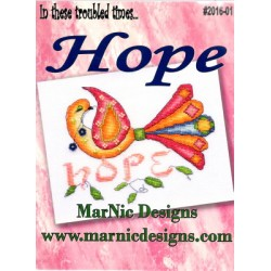 IN THESE TROUBLED TIMES HOPE MarNic Designs