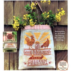 CHICKEN FEED SACK Carriage House Samplings