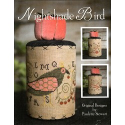 NIGHTSHADE BIRD Plum Street Samplers