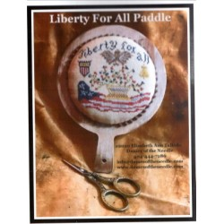 LIBERTY FOR ALL PADDLE Dames of the Needle