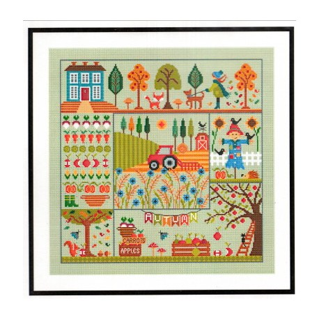 A STITCH FOR ALL SEASONS AUTUMN Little Dove Designs