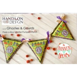 GHOSTIES AND GOURDS PEEK A BOOS IN THE PUMPKIN PATCH Hands on Design