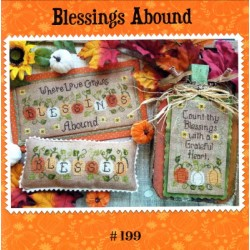 BLESSINGS ABOUND Waxing Moon Designs