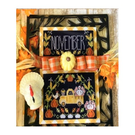 TRUCKIN ALONG NOVEMBER Stitching With The Housewives
