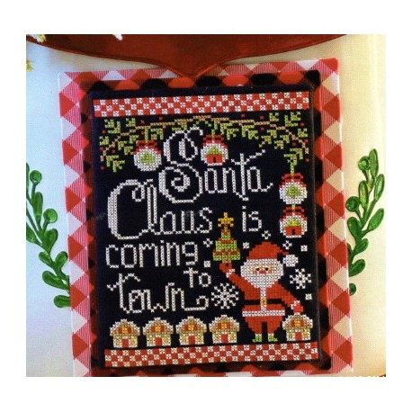 SANTA CLAUS IS COMING TO TOWN Stitching With The Housewives