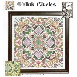 QUAKER GEOMETRIC PUZZLE Ink Circles