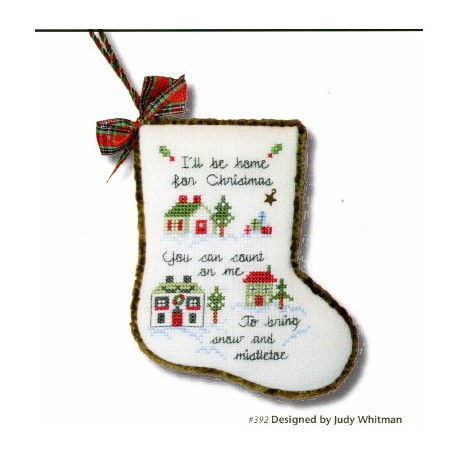 SING A SONG OF CHRISTMAS XIV ILL BE HOME FOR CHRISTMAS JBW Designs