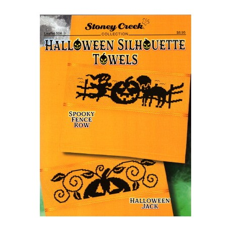 HALLOWEEN SILHOUETTE TOWELS Stoney Creek Collection