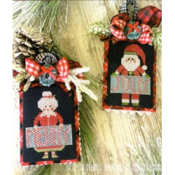 JOLLY CLAUS AND MERRY MRS CLAUS Stitching with the Housewives