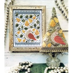 FIRST DAY OF CHRISTMAS SAMPLER AND TREE Hello from Liz Mathews
