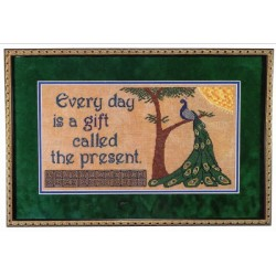EVERY DAY IS A GIFT Paradise Stitchery