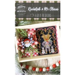 RUDOLPH AND MR CLAUS Stitching with the Housewives