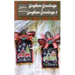 GINGHAM GREETINGS GINGHAM GREETINGS 2 Stitching with the Housewives