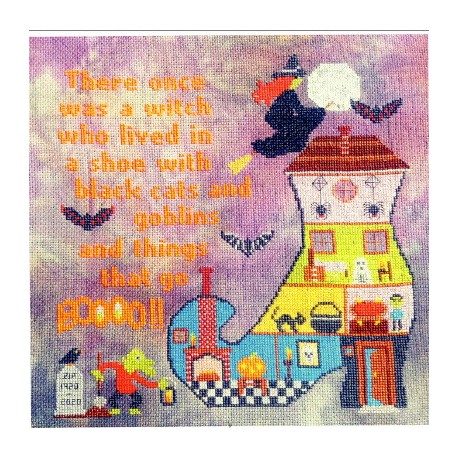 WITCHY BOO Sister Lou Stitches