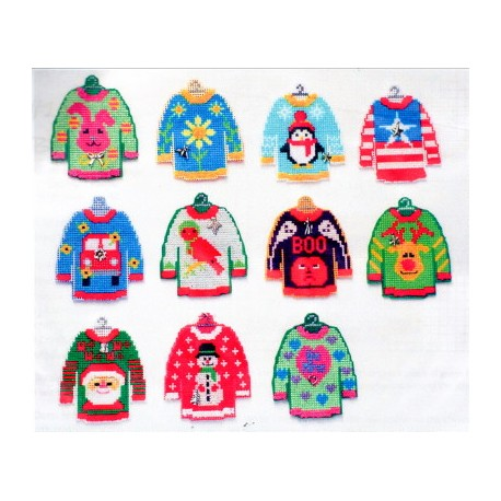THE CUTEST LITTLE UGLY HOLIDAY SWEATERS WITH CHARMS Handblessings
