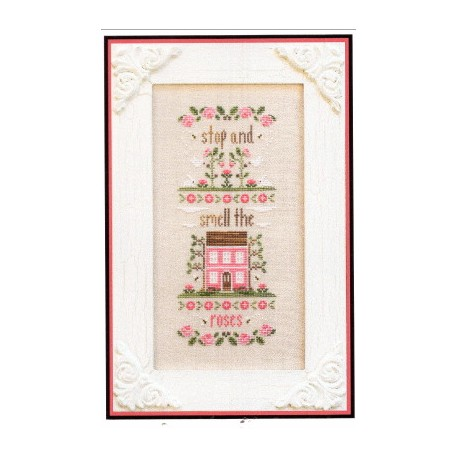 STOP AND SMELL THE ROSES Country Cottage Needleworks
