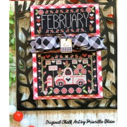 TRUCKIN ALONG FEBRUARY Stitching with the Housewives