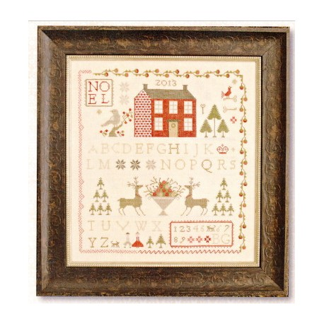 NOEL SAMPLER With Thy Needle and Thread