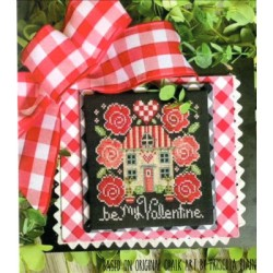 BE MY VALENTINE Stitching with the Housewives