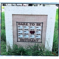 DARE 2 BE DIFFERENT Vintage Needle Arts