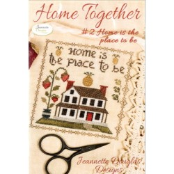 HOME TOGETHER 2 HOME IS THE PLACE TO BE Jeannette Douglas Designs