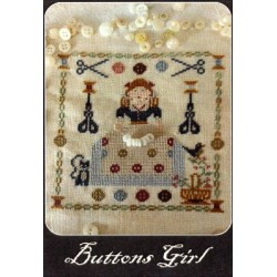 BUTTONS GIRL Nikyscreations