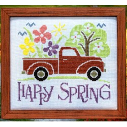 HAPPY SPRING TRUCK Stoney Creek Collection