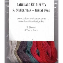 LANGUAGE OF LIBERTY THREAD PACK Colour and Cotton