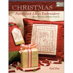 CHRISTMAS PATCHWORK LOVES EMBROIDERY That Patchwork Place