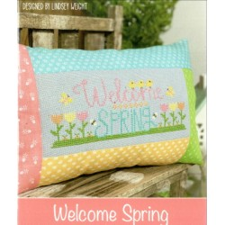 WELCOME SPRING Primrose Cottage Stitches