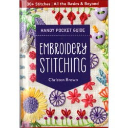 EMBROIDERY STITCHING HANDY POCKET GUIDE Christen Brown