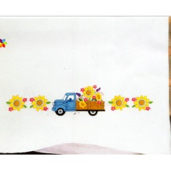 TRUCK PILLOWCASES T232222 Design Works Crafts Inc.